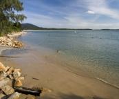 Beautiful beach at Arakoon