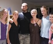 Hannah, Lisa, Sam, Jess, Nick and Emma