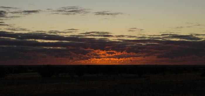 Sunrise at Mount Ebenezer