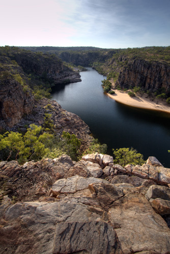 Katherine Gorge\'s first gorge from Pat\'s Lookout