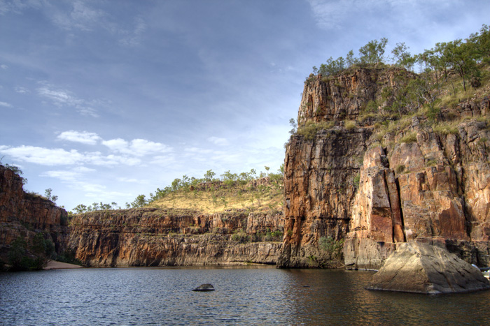 Katherine Gorge\'s second gorge