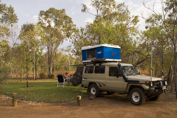 Our campsite at Leliyn in Nitmiluk National Park