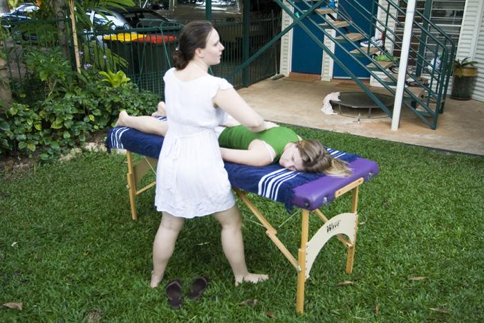 Margot pulsing Lisa