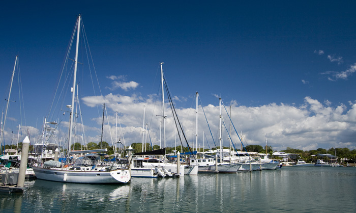 Cullen Bay harbor