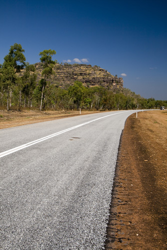 The Arnhem Land escarpemtn alongside the road between Ubirr and Jabiru