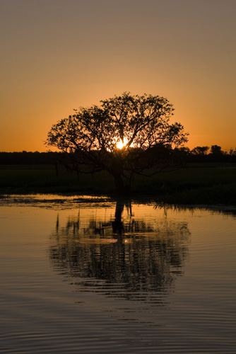 Sunset at Yellow Waters