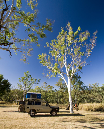 Our campsite at Victoria River in Gregory National Park