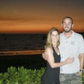 Lisa and Sam at the Darwin Sailing Club