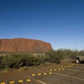 Uluru in the late afternoon sun