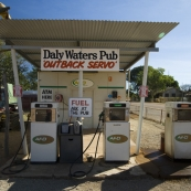 The Daly Waters petrol station