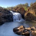 Leliyn\'s upper falls and swimming hole