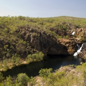 Leliyn\'s upper falls