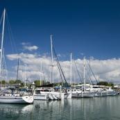 Cullen Bay harbor