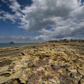 The mud flats and jetty at Mandorah