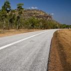 The Arnhem Land escarpemtn alongside the road between Ubirr and Jabiru