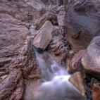 Water draining into Gubara Pools