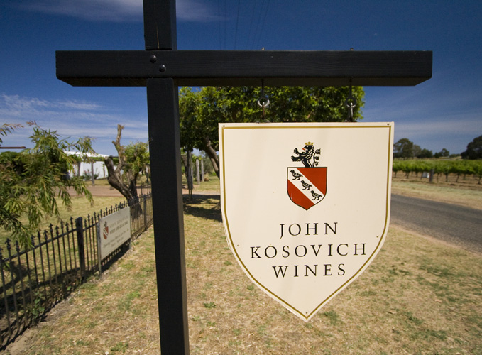 John Kosovich Wines with hand-dug cellars to boot!
