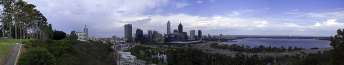 Perth from King\'s Park