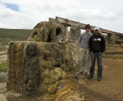 Sergey and Sam at Cape Leeuwin
