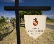 John Kosovich Wines with hand-dug cellars to boot!