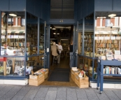 An eclectic book store in Fremantle