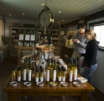 Lisa and Sergeyt at The Natural Olive Oil Soap Factory
