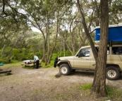 Our brilliant campsite at Conto