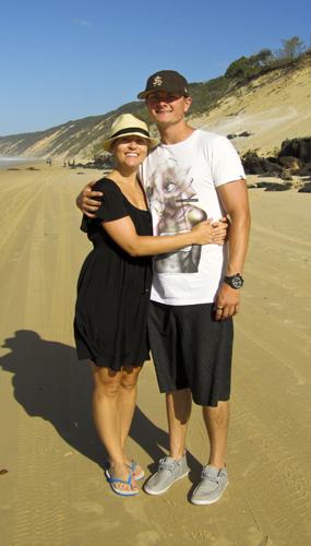 Raibow Beach