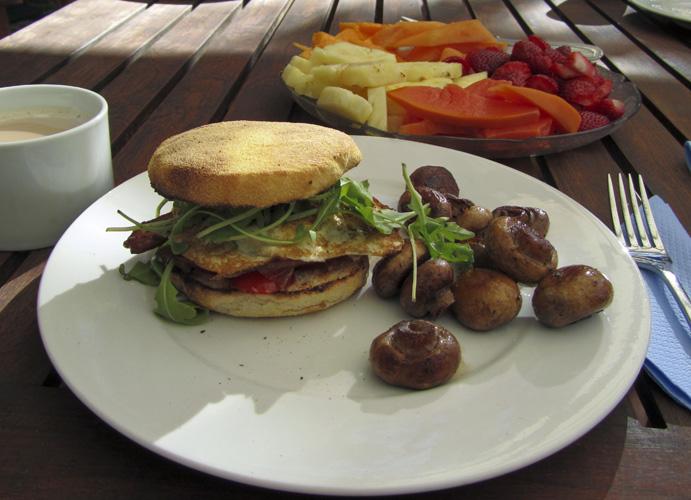 Bordessa breakfast sandwiches at Coolum