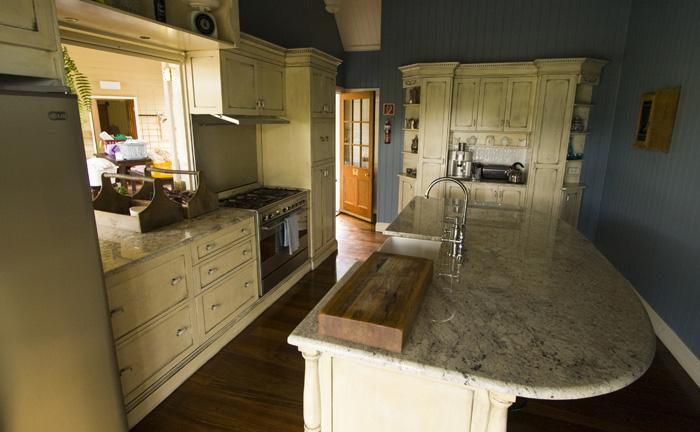 Branell Homestead: the kitchen