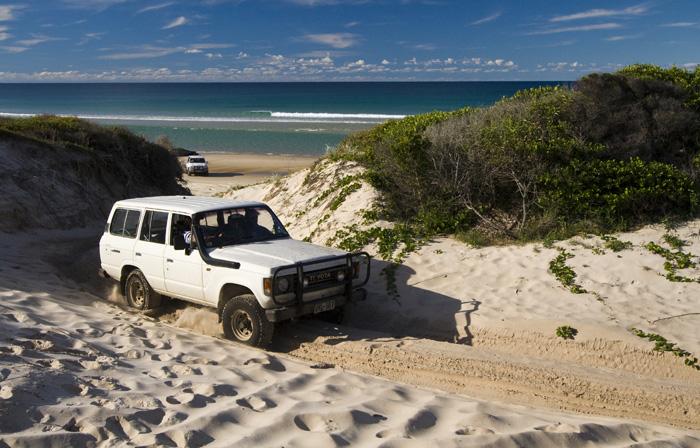 Bessie making it back around Ngkala Rocks