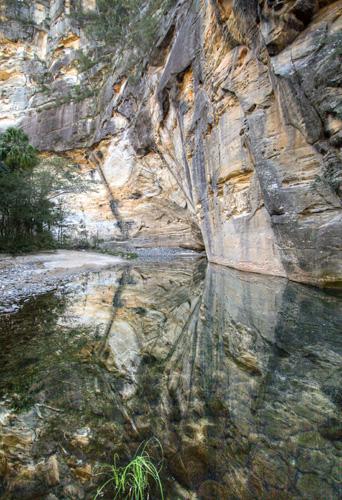 Big Bend at the end of Carnarvon Gorge