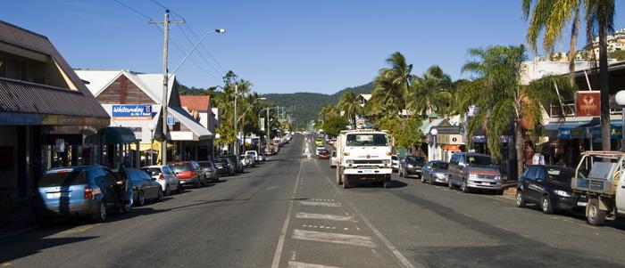 Airlie Beach main street