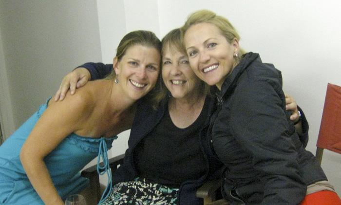 Lisa, Sue and Cheryl