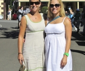 Cheryl and Lisa at Eumundi Markets