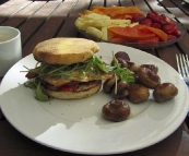 Bordessa breakfast sandwiches at Coolum
