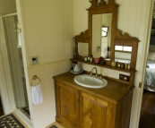 Branell Homestead: our bathroom