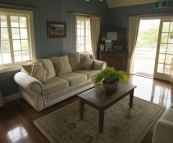 Branell Homestead: our living room