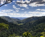 View across the hinterland from the Kondalilla Falls Circuit