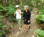 Gail and Lisa on the Kondalilla Falls Circuit