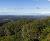 Panoramic view of the Sunshine Coast from Montville