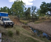 Camping on one of the station\'s outside Carnarvon Gorge National Park
