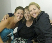 Lisa, Sue and Cheryl