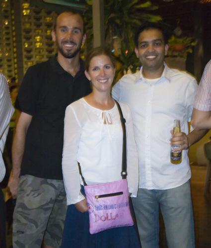Sam, Lisa and Vivek