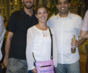 Sam, Lisa and Vivek