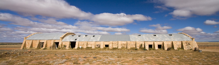 Australia's largest shearing shed at Cordillo Downs