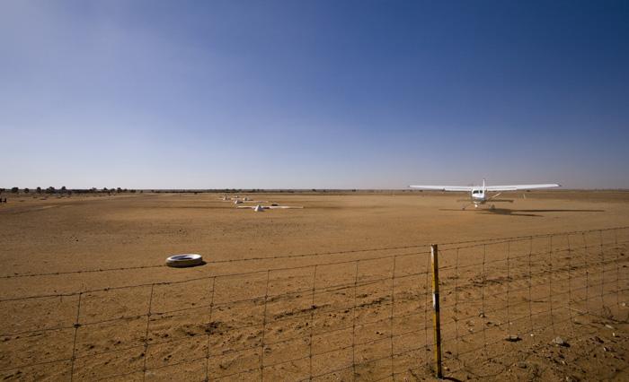 The William Creek airport