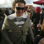Todd at the McLaren Vale Sea and Vines Festival