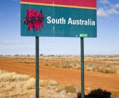Crossing the border in South Australia