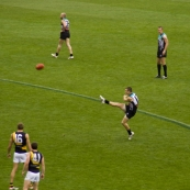 The Port Power and Richmond Tigers AFL game